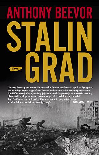 Stalingrad - Antony Beevor  | okładka