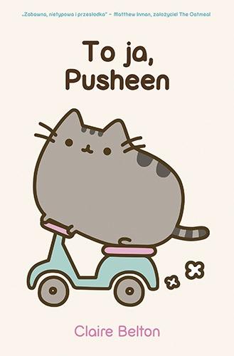 To ja, Pusheen  - Belton Claire | okładka