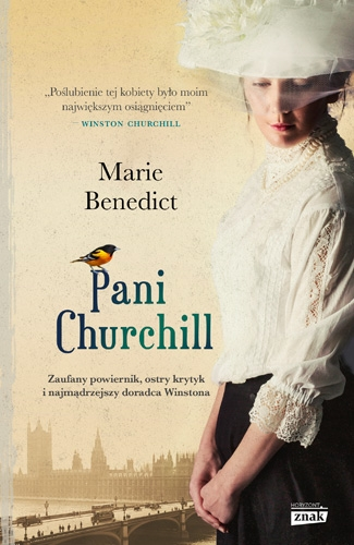 Pani Churchill - Benedict Marie | okładka