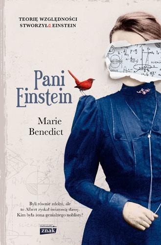 Pani Einstein - Marie Benedict | okładka