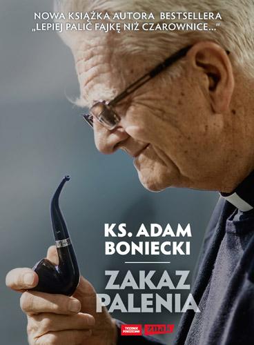 Zakaz palenia - Adam Boniecki | okładka
