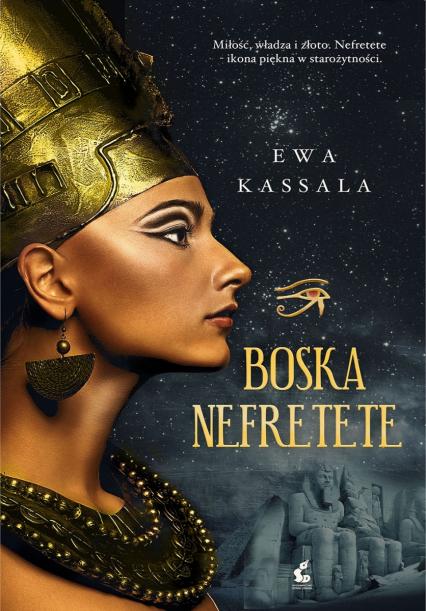 Boska Nefretete - Ewa Kassala | okładka