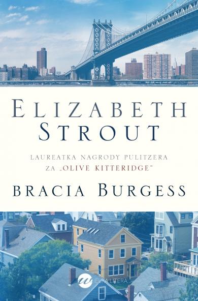 Bracia Burgess - Elizabeth Strout | okładka