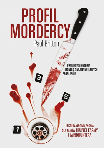 Profil mordercy - Paul Britton | okładka