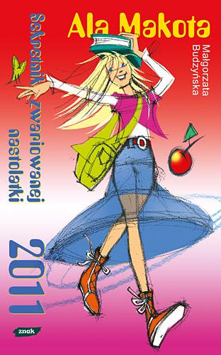 Sekretnik nastolatki 2011 - Małgorzata Budzyńska  | okładka