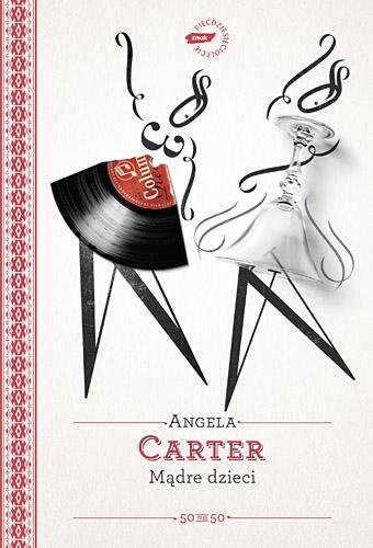Mądre dzieci - Angela Carter  | okładka