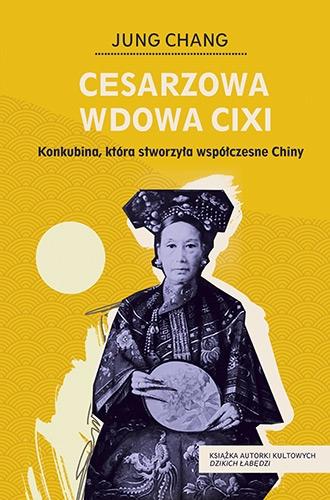 Cesarzowa wdowa Cixi - Chang Jung | okładka