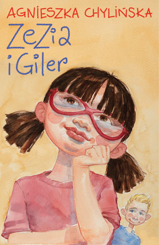 Zezia i Giler - Agnieszka Chylińska | okładka