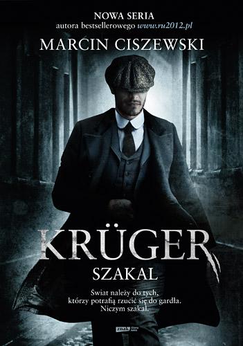 Krüger. Szakal - Marcin Ciszewski | okładka