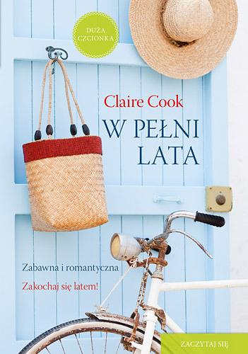 W pełni lata  - Claire Cook | okładka