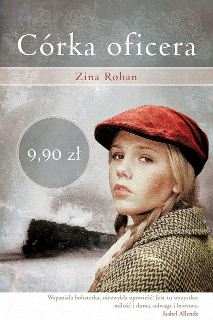 Córka oficera - Zina Rohan  | okładka