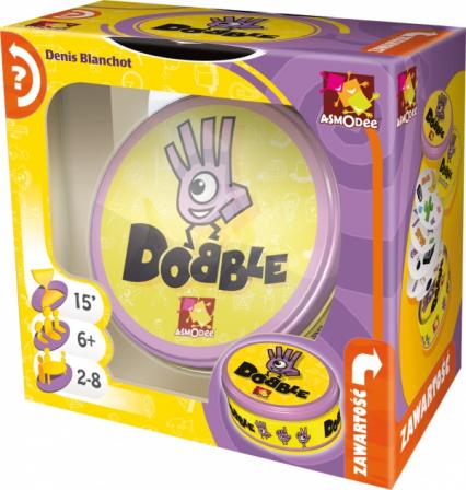 Dobble - gra planszowa -  | okładka