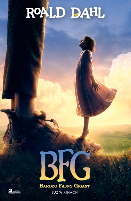BFG - Roald Dahl | okładka