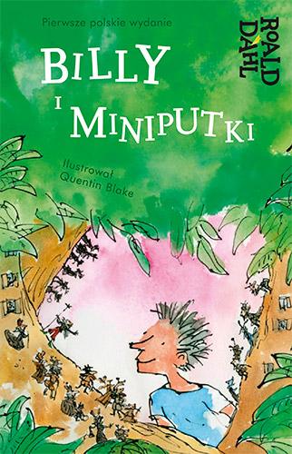 Billy i Miniputki - Roald Dahl | okładka