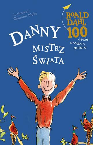 Danny, mistrz świata - Roald Dahl | okładka