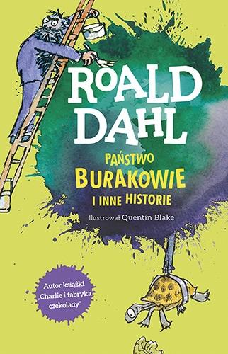 Państwo Burakowie i inne historie - Roald Dahl | okładka
