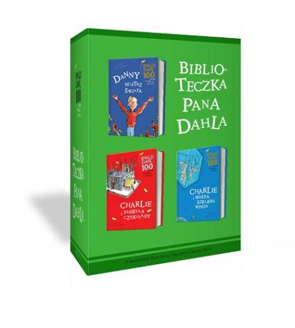 Charlie i fabryka czekolady + Charlie i wielka szklana winda + Danny, mistrz świata - pakiet - Roald Dahl | okładka