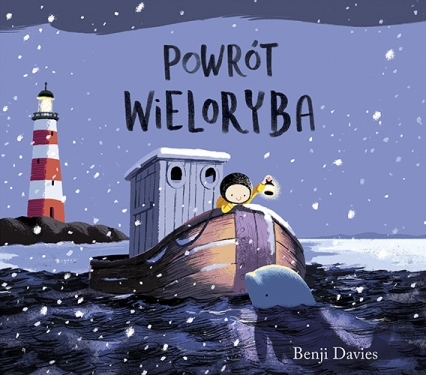 Powrót wieloryba - Benji Davies | okładka