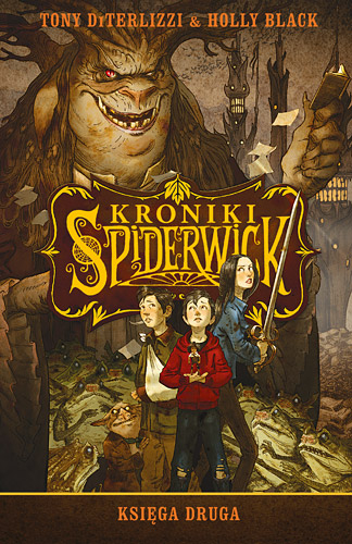Kroniki Spiderwick. Księga druga - Tony DiTerlizzi, Holly Black | okładka