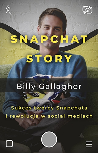 Snapchat Story. - Billy Gallagher  | okładka