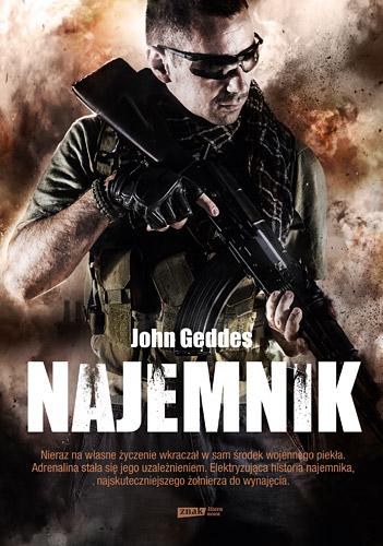 Najemnik - John Geddes | okładka