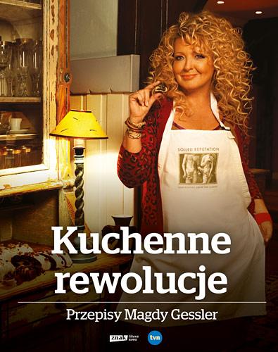Kuchenne rewolucje. Przepisy Magdy Gessler  - Magda Gessler | okładka