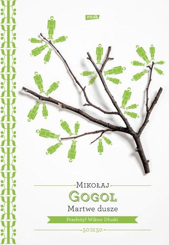 Martwe dusze - Nikołaj Gogol | okładka