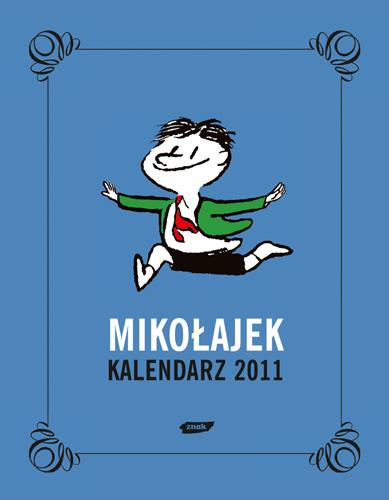 Mikołajek. Kalendarz książkowy 2011 - René Goscinny  | okładka