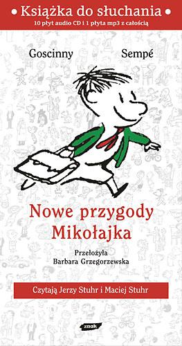 Nowe przygody Mikołajka. Audio - René Goscinny, Jean-Jacques Sempé  | okładka