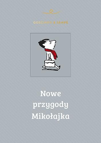 Nowe przygody Mikołajka - Rene Goscinny, Jean-Jacques Sempe | okładka