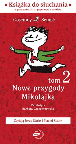Nowe przygody Mikołajka. Kolejna porcja. Audio - René Goscinny  | okładka
