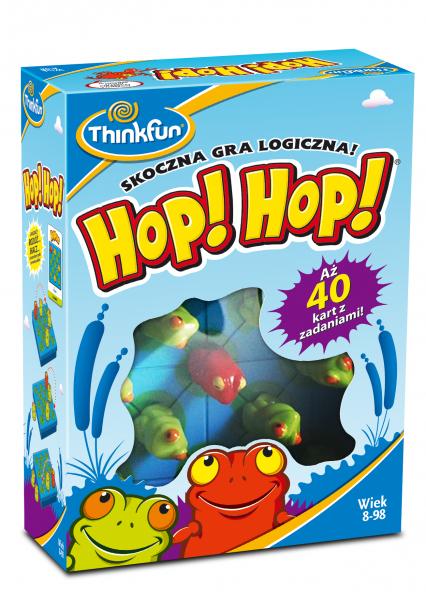 HOP! HOP! - gra planszowa -  | okładka