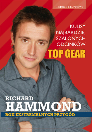 Rok ekstremalnych przygód  - Richard Hammond   | okładka