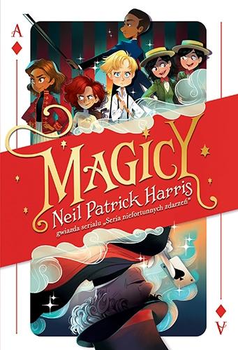 Magicy - Neil Patrick Harris  | okładka