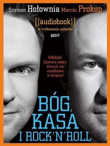 Audiobook. Bóg, kasa i rock'n'roll - Sz. Hołownia, M. Prokop | okładka
