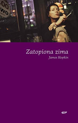 Zatopiona zima - James Hopkin  | okładka
