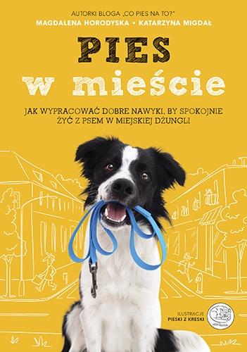 Pies w mieście. Jak wypracować dobre nawyki, by spokojnie żyć z psem w miejskiej dżungli - Magdalena Horodyska, Katarzyna Migdał | okładka