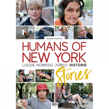 Humans of New York. Ludzie Nowego Jorku. Historie - Brandon Stanton | okładka