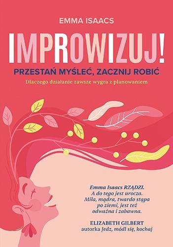Improwizuj - Isaacs Emma | okładka