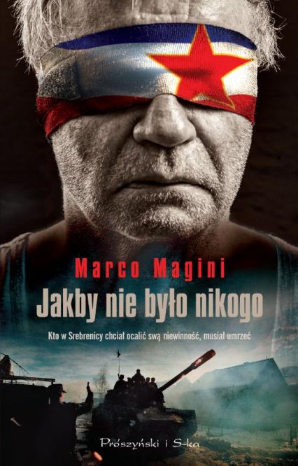 Jakby nikogo nie było - Marco Magini | okładka