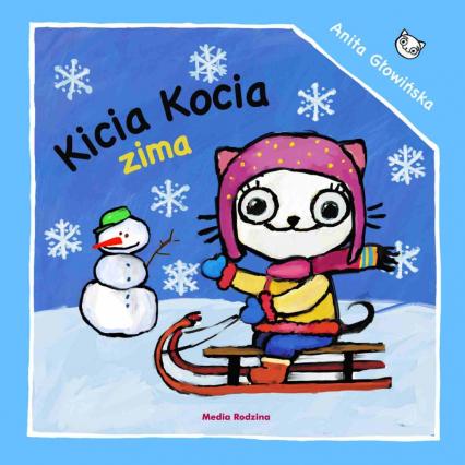 Kicia Kocia. Zima - Anita Głowińska | okładka