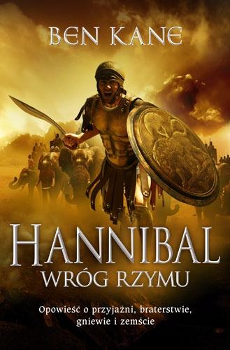 Hannibal. Wróg Rzymu - Ben Kane | okładka