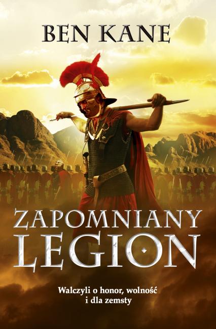 Zapomniany Legion - Ben Kane | okładka