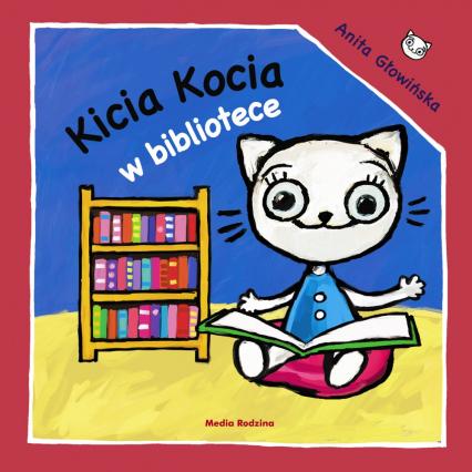 Kicia Kocia w bibliotece - Anita Głowińska | okładka