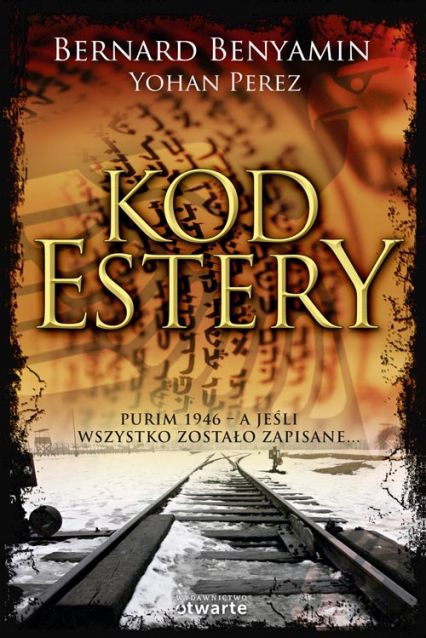 Kod Estery - Bernard Benyamin, Yohan Perez | okładka