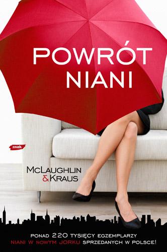 Powrót niani  - Emma McLaughlin, Nicola Kraus  | okładka