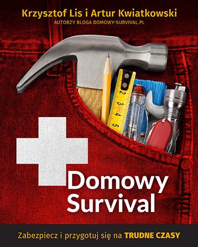 Domowy survival - Krzysztof Lis, Artur Kwiatkowski | okładka