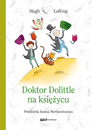 Doktor Dolittle na księżycu - Hugh Lofting | okładka