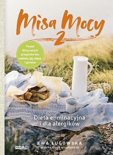 Misa Mocy 2. Dieta eliminacyjna i dla alergików - Ługowska Ewa | okładka
