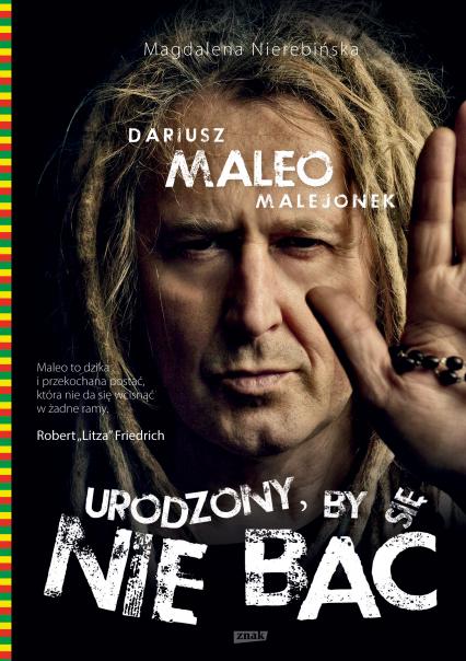 Urodzony, by się nie bać - Dariusz Malejonek, Magdalena Nierebińska | okładka